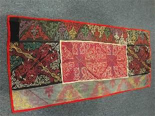 Uzbekistan, Textile Rug 5-10x2-9 Circa 1920