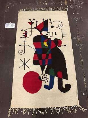 Tapestry Rug 5-4x2-10 Circa 1960