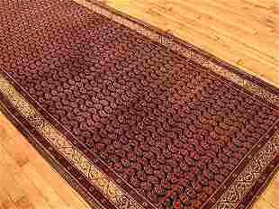 Amritsar Rug 14-11x4-3 Circa 1900