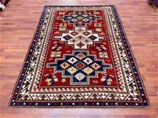 Antique Kazak Caucasian Rug-4799