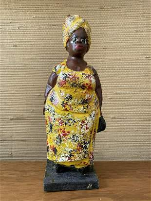 Colonial Doll (yellow dress)