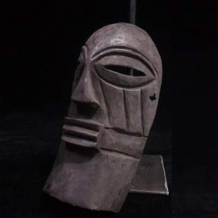 African imports of primitive tribe handmade wood