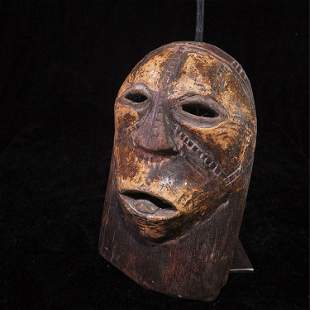 African indigenous tribes carved wooden masks (146)