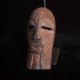 African indigenous tribes carved wooden masks (166)