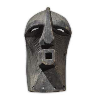 Africa imported pure hand carved wooden masks