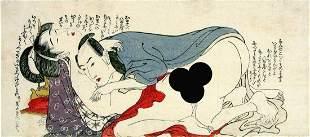 Shunga- UTAMARO, Kitagawa (1750-1806) Couple