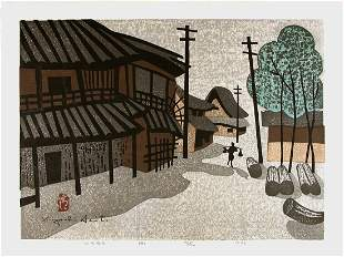 SAITO, Kiyoshi (1907-1997) Nara (B)- limited edition