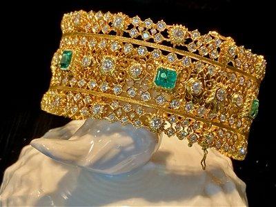Columbia Emerald 6Cts Bracelet