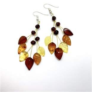 Grand Amber Earrings