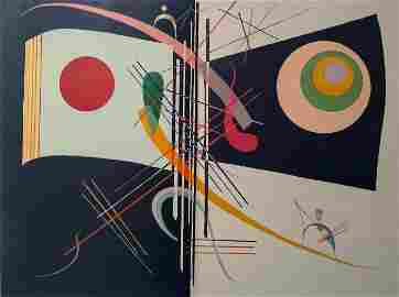 Wassily Kandinsky (after): Two, etc