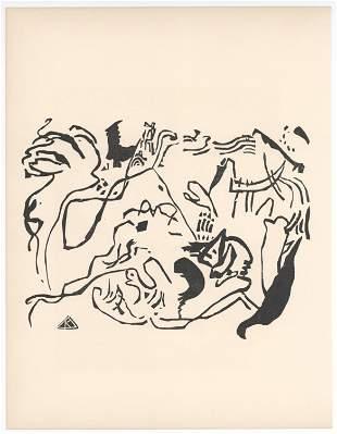 "Wassily Kandinsky original woodcut ""Jungster Tag"""
