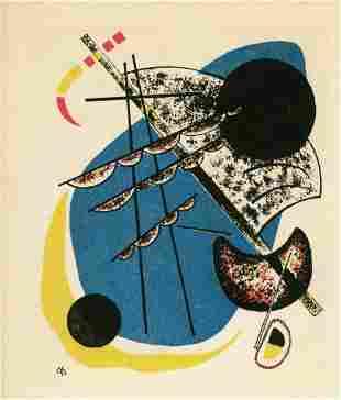 "Wassily Kandinsky lithograph ""Kleine Welten II"""