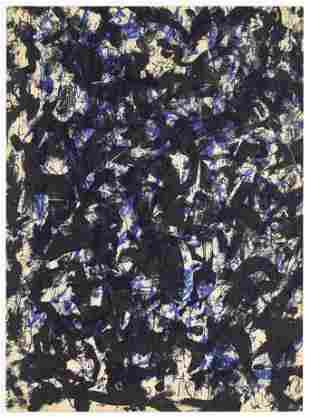 Francois Fiedler original lithograph, 1959