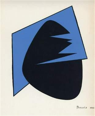 Angelo Bozzola original serigraph, 1958