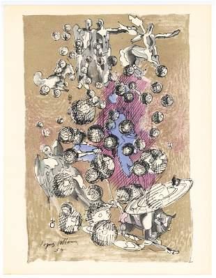 Jacques Villon original lithograph