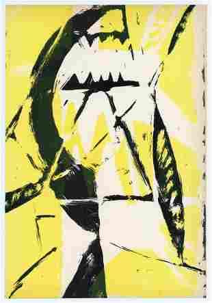 Enrico Bordoni original lithograph | Documenti d'Arte
