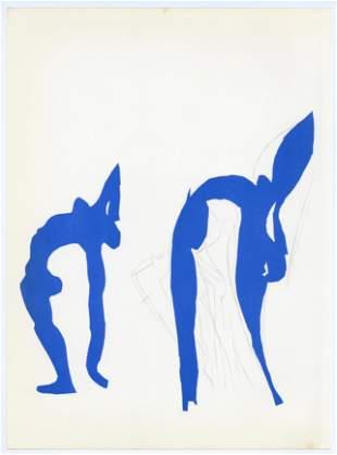 "Henri Matisse lithograph ""Acrobates"""
