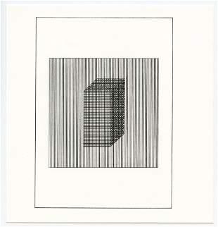 Sol LeWitt silkscreen, edition of 1500