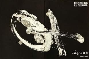 Antoni Tapies lithograph, 1974