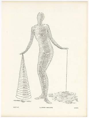 "Man Ray ""La femme portative"""