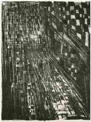 Vieira da Silva original lithograph