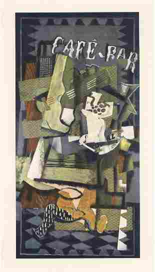 """Georges Braque """"Cafe-Bar"""""""