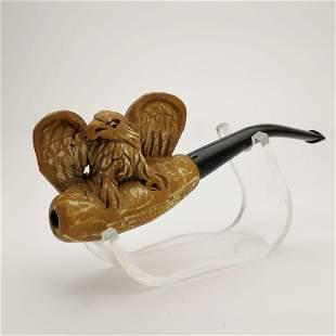 Eagle,Hand carved Meerschaum Cigarette Holder.