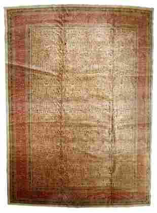 Handmade Vintage Turkish Sivas rug 9.10