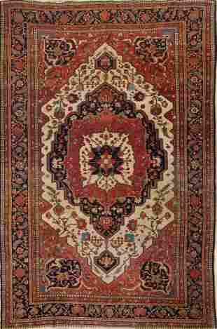 8x12 Farahan Sarouk Persian Rug
