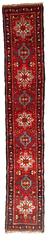 Handmade Modern Persian Karajeh runner 1.9