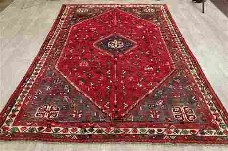 One-of-a-Kind Modern Tribal Shiraz Persian