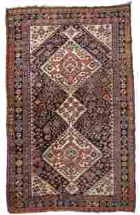Handmade antique Persian Gashkai rug 4.1