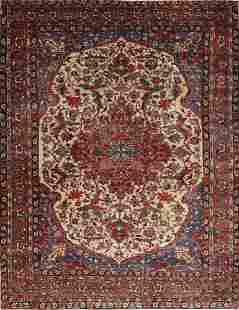 Antique Vegetable Dye Bakhtiari Saman Persian