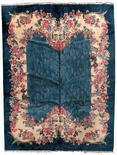 Handmade Art Deco Chinese rug 8.9