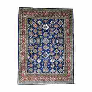 Hand-Knotted Super Kazak Oversize Pure Wool Oriental