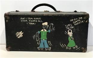 Popeye & Olive Oyl Roller Skate Case