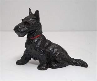 Scottie Dog Cast Iron Hubley Doorstop