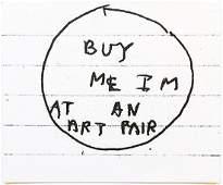 Simon Evans: Untitled (Buy Me I