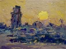 Oil painting Sunset Endeberya Victor