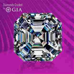 0.52 ct, Color D/IF, Sq. Emerald cut GIA Graded Diamond