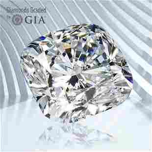3.52 ct, Color E/VS1, Cushion cut GIA Graded Diamond