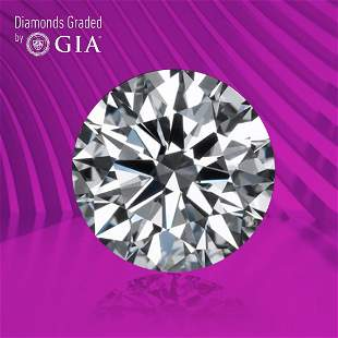 1.54 ct, Color D/VVS1, Round cut GIA Graded Diamond