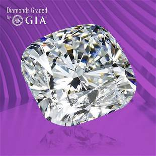 1.50 ct, Color F/VS1, Cushion cut GIA Graded Diamond