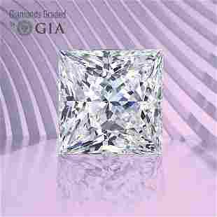 1.31 ct, Color F/VS1, Princess cut GIA Graded Diamond