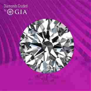 1.90 ct, Color D/VS1, Round cut GIA Graded Diamond