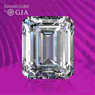 0.75 ct, Color D/IF, Emerald cut GIA Graded Diamond