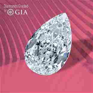 0.70 ct, Color F/VS1, Pear cut GIA Graded Diamond