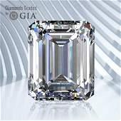 3.51 ct, Color E/VS1, Emerald cut GIA Graded Diamond