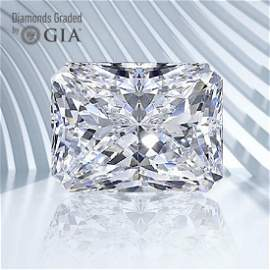 2.50 ct, Color F/VVS2, Radiant cut GIA Graded Diamond