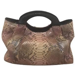 Nancy Gonzalez Python and Crocodile Hobo Bag
